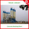 120m3 / H PLC Control Betão Batching Plant