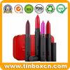Eingehängter kosmetischer Zinn-Kasten für Lippenstift-Lippenbalsam-Behälter