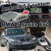 De androïde GPS VideoInterface van de Doos van de Navigatie voor BMW E60 Cic van 5 Reeksen Systeem het Gegoten Scherm Youtube Waze