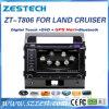 無線の音声が付いているトヨタの土地の巡洋艦2008-2014年のための車DVD GPS