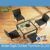 Sale caliente Outdoor Furniture Rattan Dining Set con Armed Chairs y 1 Table