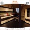 N及びL標準的な食器棚の純木の台所高品質はカスタム設計する