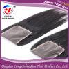 Прямая девственница Remy закрытие надкожицы шнурка  *5  волос 5 Silk низкопробное верхнее (CSTB-A540)