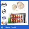 Citrate de Clomiphene pharmaceutique de poudre d'hormone de Steriod de matériaux de 99% Clomid