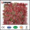 Wand-Dekoration-künstlicher roter Ahornblatt-Pflanzenzaun für im Freiengarten
