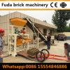 Bloque del cemento de la prensa hidráulica que pavimenta la cadena de producción de máquina del bloque