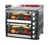 55L de dubbele Oven van de Broodrooster van Convction van de Oven van de Laag Elektrische