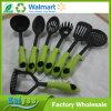 Il nylon che cucina gli strumenti non graffierà il vostro insieme antiaderante dell'utensile dell'articolo da cucina
