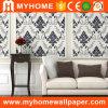 Papier peint de vinyle gravé en relief par luxe de matériaux de décoration