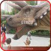 Dinossauros da simulação de Animatronic da réplica do dinossauro