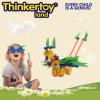 ブロックのプラスチック知的な習慣の整形おもちゃ
