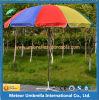 Guarda-chuva ao ar livre do jardim redondo médio da coluna