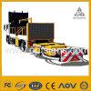 1 Fahrzeug En12966, das eingehangen wird, Vorstand-variable Meldung bekanntmachend, kennzeichnet VMs