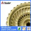 5 Mittellinien-CNC maschinell bearbeitete Billet-Flossen