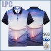 Chemise 2016 de polo faite sur commande de sublimation de transfert thermique d'hommes d'OEM