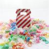 Venta al por mayor roja de la caja del caramelo de la raya en China