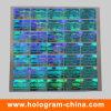 파란 3D Laser Security Hologram Sticker