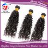 Индийский уток человеческих волос курчавых волос девственницы Remy Weft (HKCI-A225)