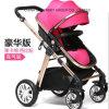 Neuer deluxer rosafarbener Spaziergänger des Baby-2016 hochwertig