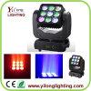 Matriz 9X12W CREE LED Cabeza móvil Wash Light Beam