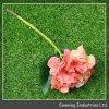 Ramo de la flor artificial de Italia Rose de la tela para la decoración de la boda