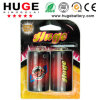 Super Heavy Duty D Taille Carbon Zinc Battery (R20) 1,5 V