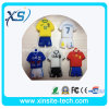 Pvc van Shirt van het Polo NBA USB Flash Drive 4GB (xst-usb-001)