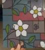 De decoratieve Zelfklevende Film van het Venster, de Kleurrijke Film van het Venster van de Druk