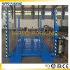 Cuatro elevaciones del estacionamiento del servicio del coche de postes con Ce