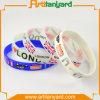 Wristband poco costoso personalizzato del silicone di modo