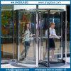 A segurança de venda quente curvou vidro curvado para a porta da divisória