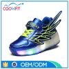 Snelle het Lopen van de Jonge geitjes van de Schoenen van de Functie van Wheelys Blauwe Schoenen