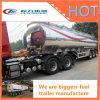 Del combustible del petrolero acoplados del carro del tanque del acoplado/de gasolina semi/acoplado del tanque de petróleo para el carro
