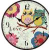 Madera hermosa relojes de pared