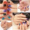Стикеры ногтя стикеров искусствоа ногтя воды конструкции способа цветастые