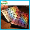 Caja de cuero geométrica del laser Ling para el iPad