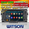 Automobile DVD del Android 5.1 di Witson per Ford S-Massimo (2008-2011) (W2-F9457FB)