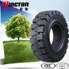 Pneu solide de chariot élévateur, pneu solide Shaped pneumatique avec le prix concurrentiel
