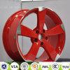 Borda de alumínio da roda da liga da réplica do carro