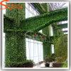 Parete di plastica artificiale dell'erba verde della decorazione del giardino