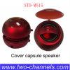 Std-M155 surgir Speaker, Cover Capsule Speaker, Mini Hamburger Speaker, 3.5 milímetros Portable Speaker para la PC de Computer Phone Notebook