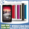"Pmd724j Cheap Android WCDMA 7 "" Mtk6572 Dual Core 512MB+4GB 3G Phone Calling Tabletのパソコン"