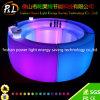 PE LED di plastica che illumina la Tabella della barra rotonda