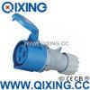 IP44 3p 16A de Industriële Mobiele Contactdoos van de Schakelaar (qx-510)