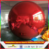 Globo inflable publicitario inflable del espejo de la bola reflexiva de la plata de la bola del espejo del globo para la decoración de los acontecimientos