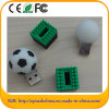 Soem-populärer Fußball redet codierte Karte an (Z.B. 521)