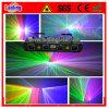 Éclairage d'exposition de laser de tunnel de Rgbv quatre