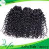加工されていないブラジルの人間の毛髪の拡張Remiの毛の織り方
