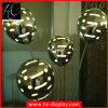 Fibra de vidrio del diseño de la innovación de la visualización de Hunchew con las visualizaciones de la ventana del globo LED del PVC