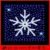 Lumière blanche de flocon de neige de corde de motif de décoration de LED